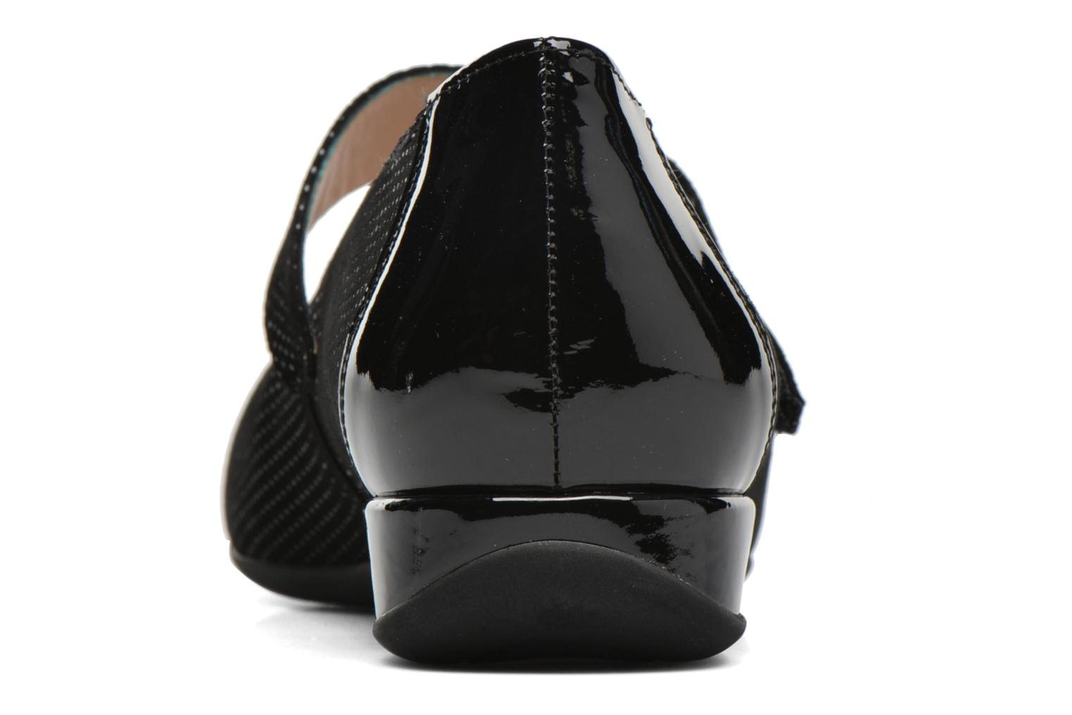 Ballet pumps Hassia Petra 1724 Black view from the right