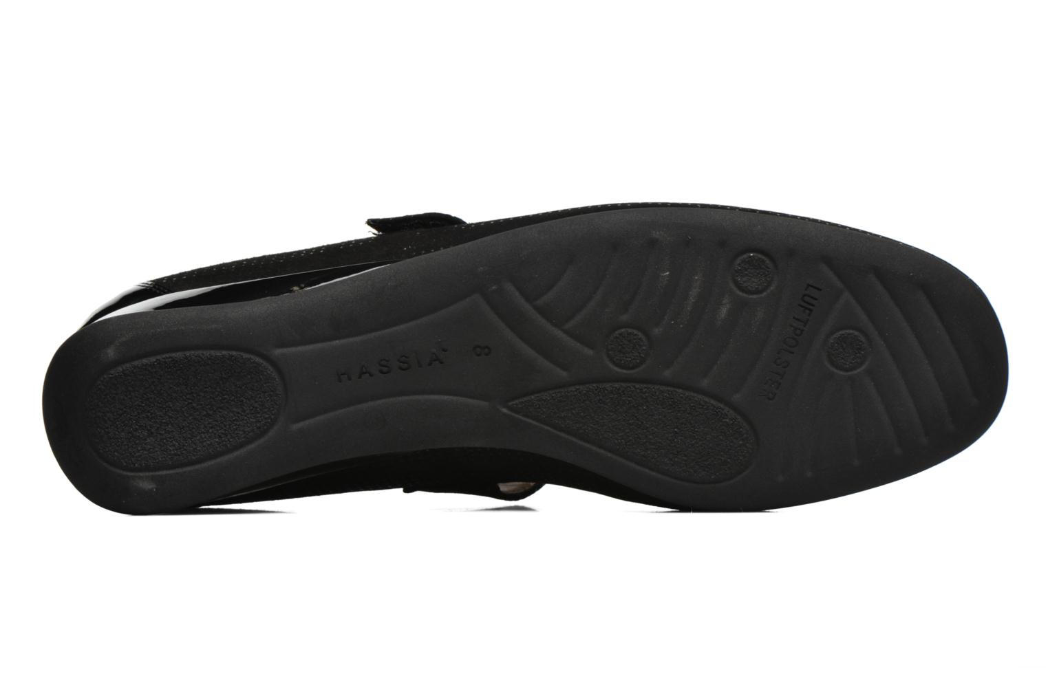 Ballet pumps Hassia Petra 1724 Black view from above