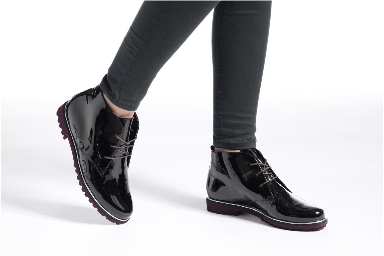 Zapatos con cordones Hassia Asti 1194 Rojo vista de abajo
