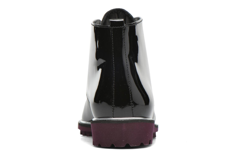 Zapatos con cordones Hassia Asti 1194 Rojo vista lateral derecha