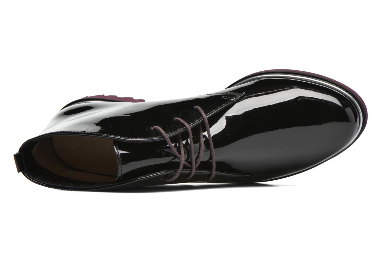 Zapatos con cordones Hassia Asti 1194 Rojo vista lateral izquierda