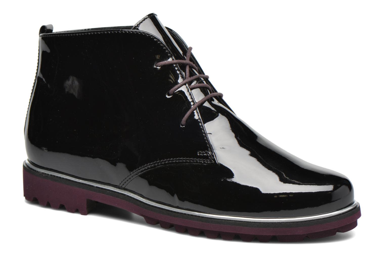 Zapatos con cordones Hassia Asti 1194 Rojo vista de detalle / par