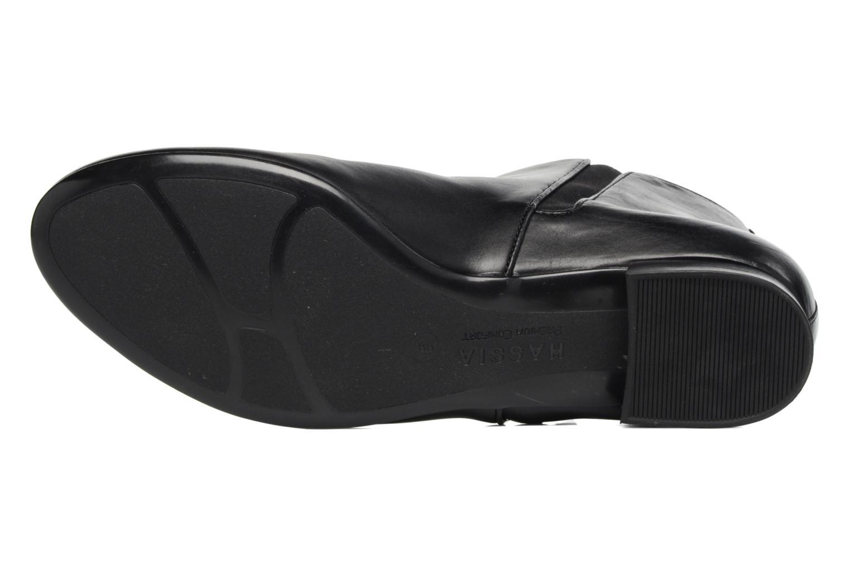 Stiefeletten & Boots Hassia Fermo 1081 schwarz ansicht von oben