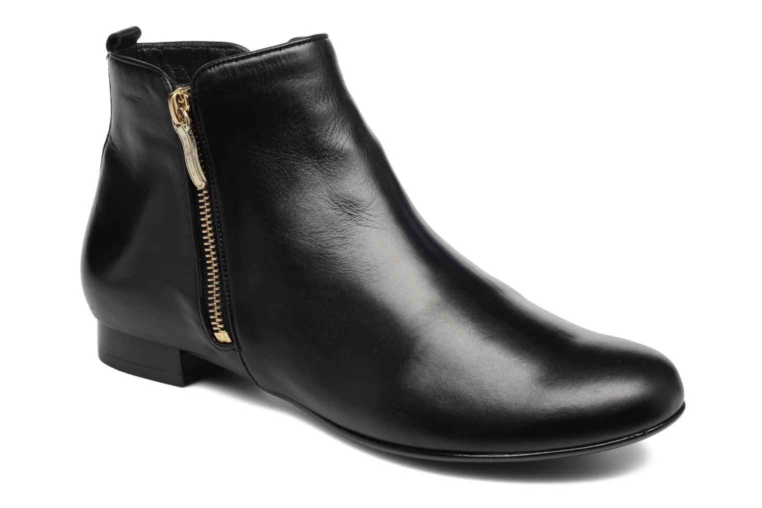 Ankle boots Hassia Fermo 1081 Black detailed view/ Pair view