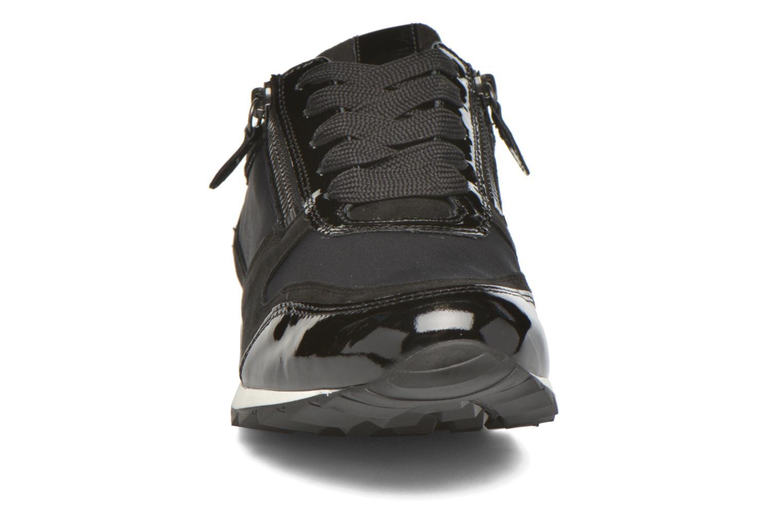 Baskets Hassia Barcelona 1914 Noir vue portées chaussures