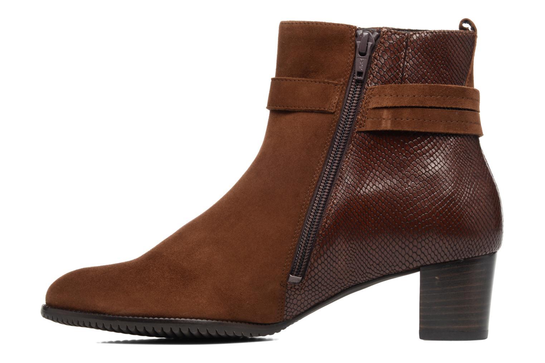 Bottines et boots Hassia Turin 6916 Marron vue face