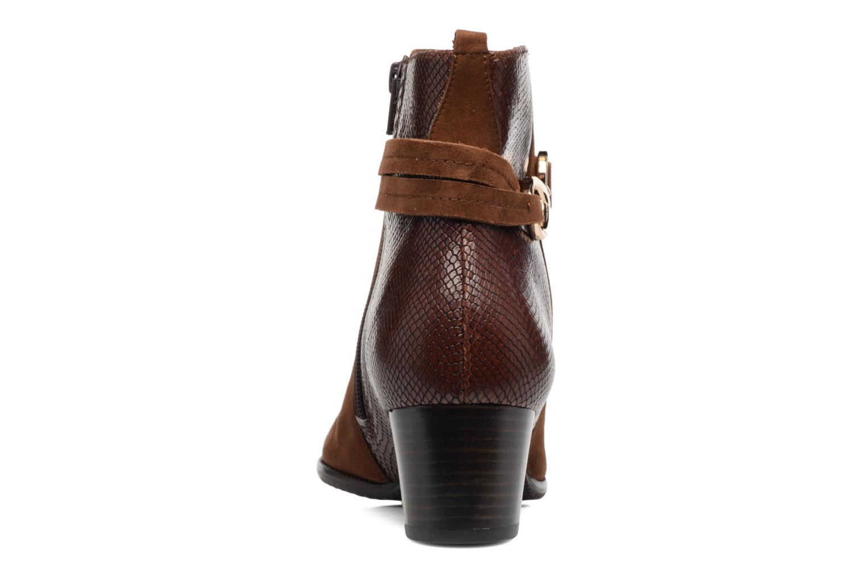 Bottines et boots Hassia Turin 6916 Marron vue droite