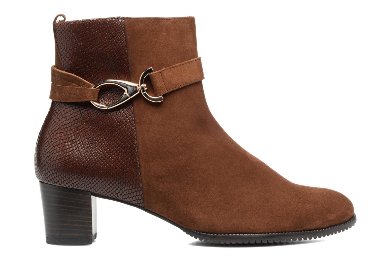 Bottines et boots Hassia Turin 6916 Marron vue derrière