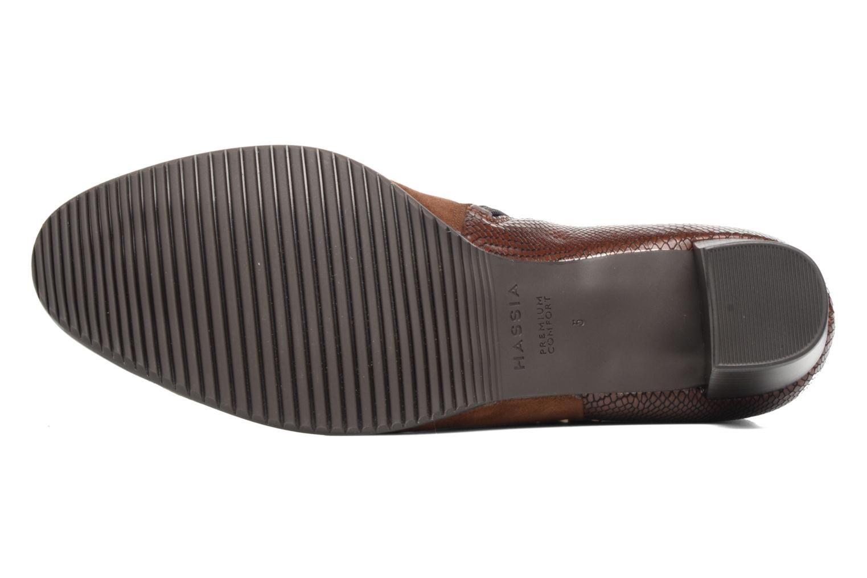 Bottines et boots Hassia Turin 6916 Marron vue haut