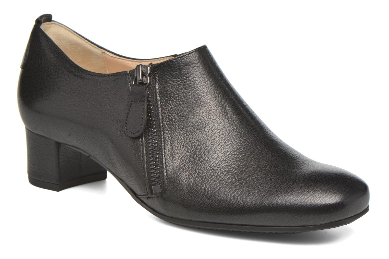 Ankle boots Hassia Verona 3653 Black detailed view/ Pair view