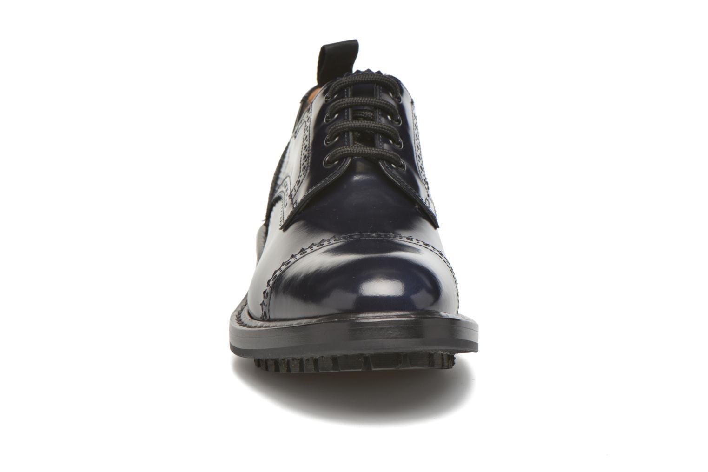 Chaussures à lacets Marc Jacobs Astor Bleu vue portées chaussures