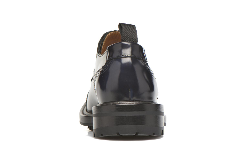 Chaussures à lacets Marc Jacobs Astor Bleu vue droite