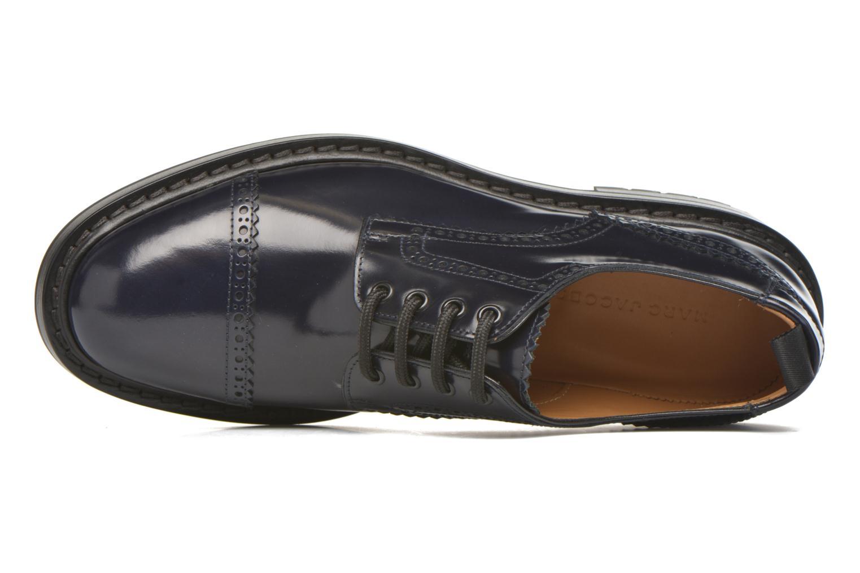 Chaussures à lacets Marc Jacobs Astor Bleu vue gauche