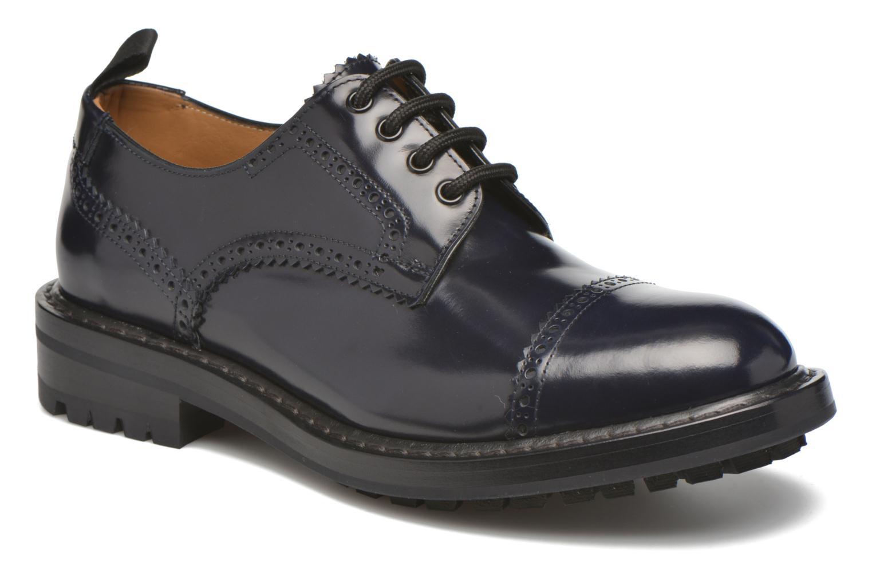Chaussures à lacets Marc Jacobs Astor Bleu vue détail/paire