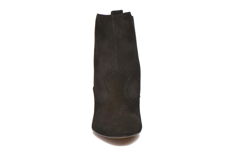 Bottines et boots Heyraud Daisy Noir vue portées chaussures