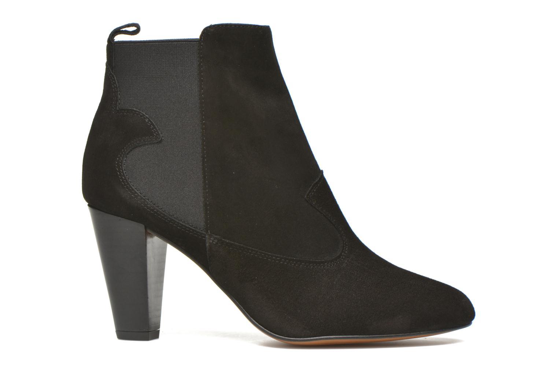 Bottines et boots Heyraud Daisy Noir vue derrière