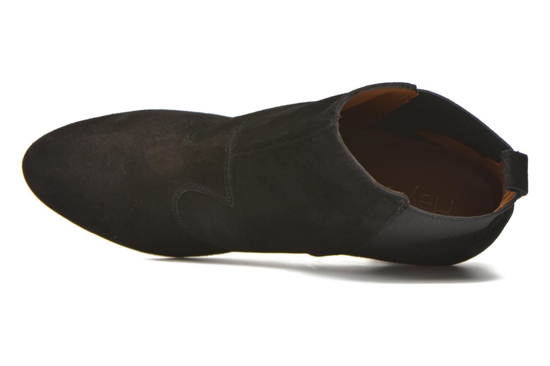 Bottines et boots Heyraud Daisy Noir vue gauche