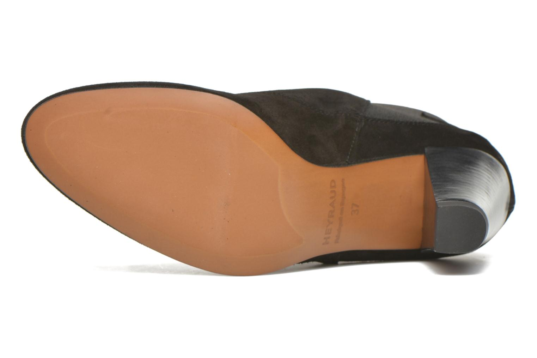 Bottines et boots Heyraud Daisy Noir vue haut