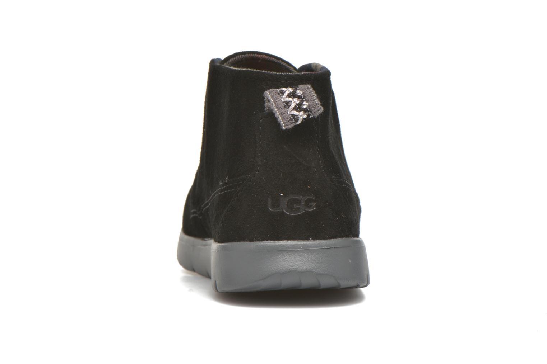 Chaussures à lacets UGG Canoe Suede Noir vue droite