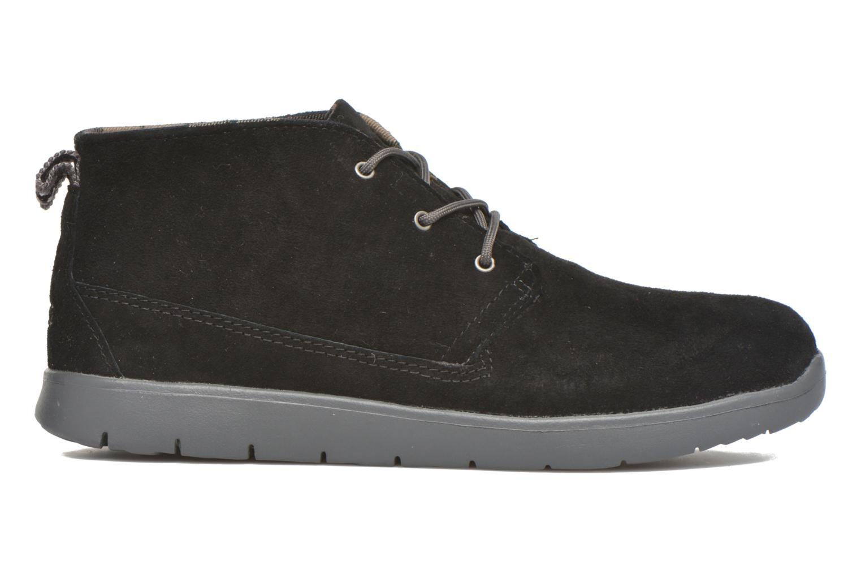 Chaussures à lacets UGG Canoe Suede Noir vue derrière