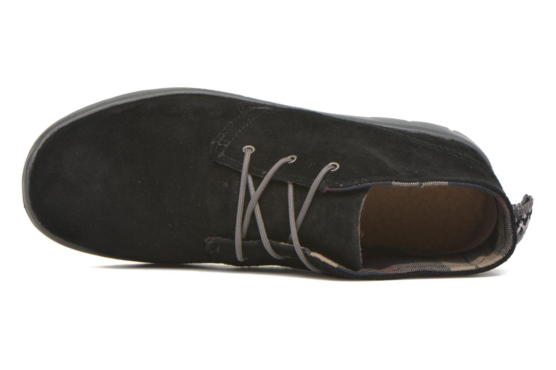 Chaussures à lacets UGG Canoe Suede Noir vue gauche