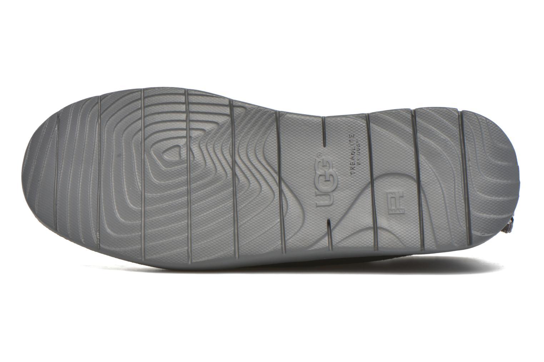 Chaussures à lacets UGG Canoe Suede Noir vue haut