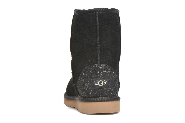 Stiefel UGG Classic Short Serein schwarz ansicht von rechts
