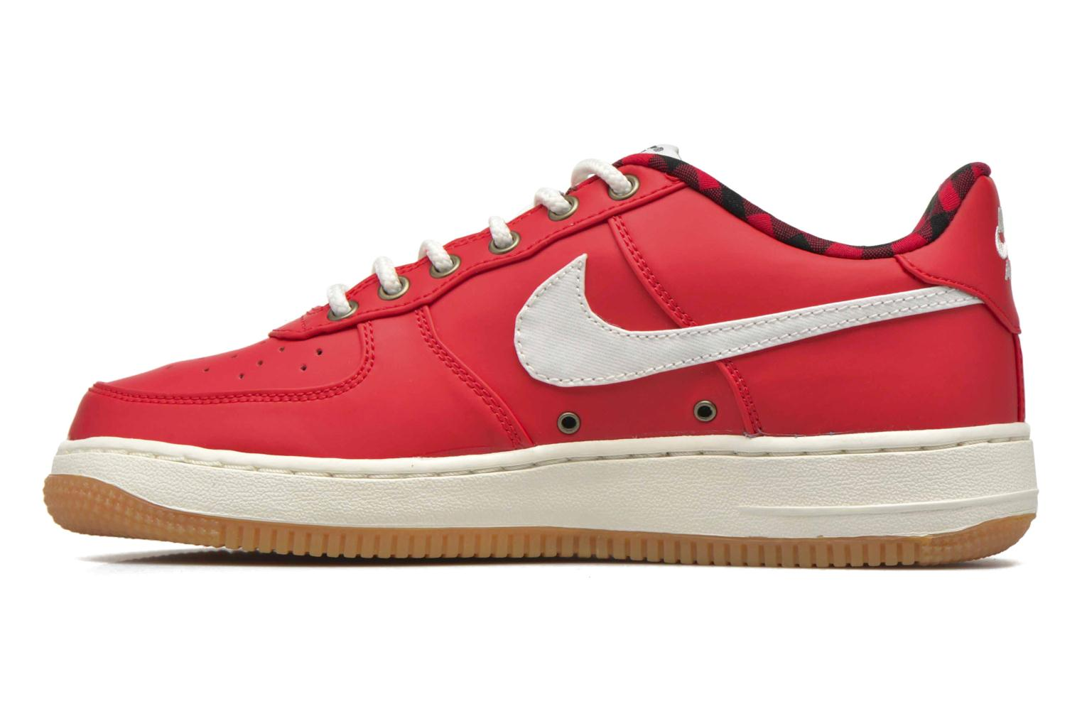 Sneakers Nike Air Force 1 Lv8 (Gs) Rosso immagine frontale