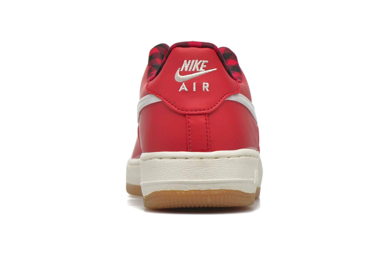 Baskets Nike Air Force 1 Lv8 (Gs) Rouge vue droite