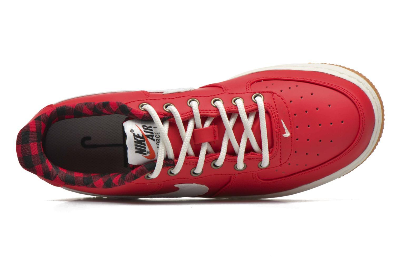 Baskets Nike Air Force 1 Lv8 (Gs) Rouge vue gauche