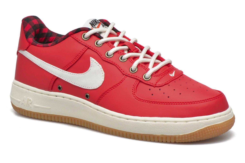 Baskets Nike Air Force 1 Lv8 (Gs) Rouge vue détail/paire