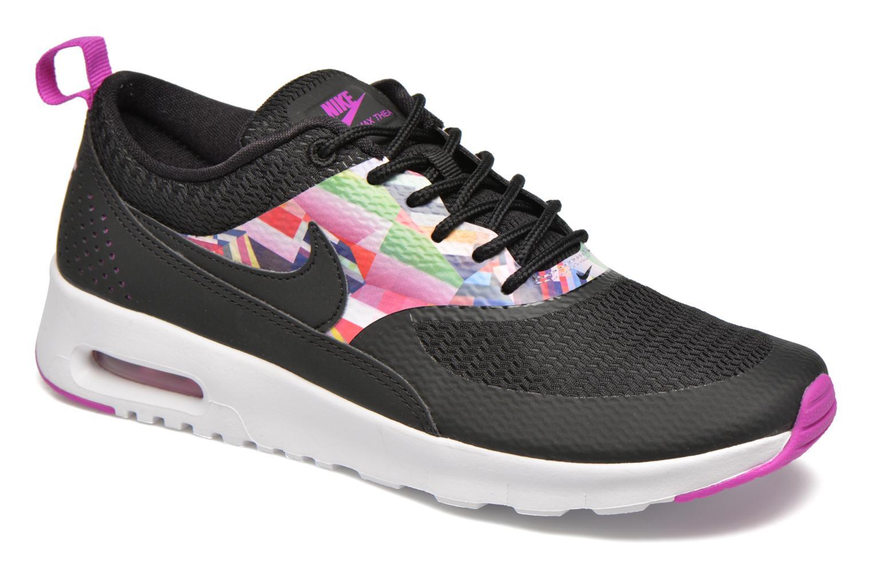 Baskets Nike Nike Air Max Thea Print (Gs) Noir vue détail/paire