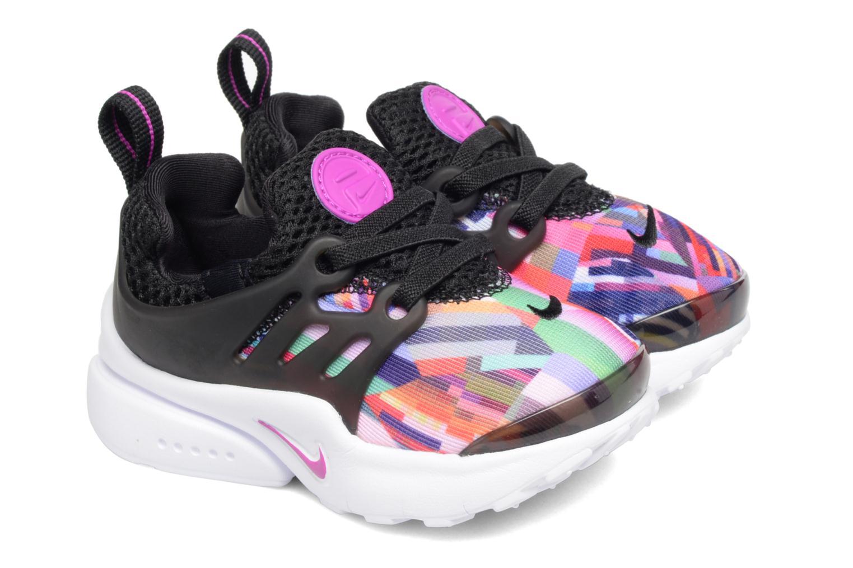 Nike Presto Print (Td) Black/Hyper Violet-Hyper Violet-White