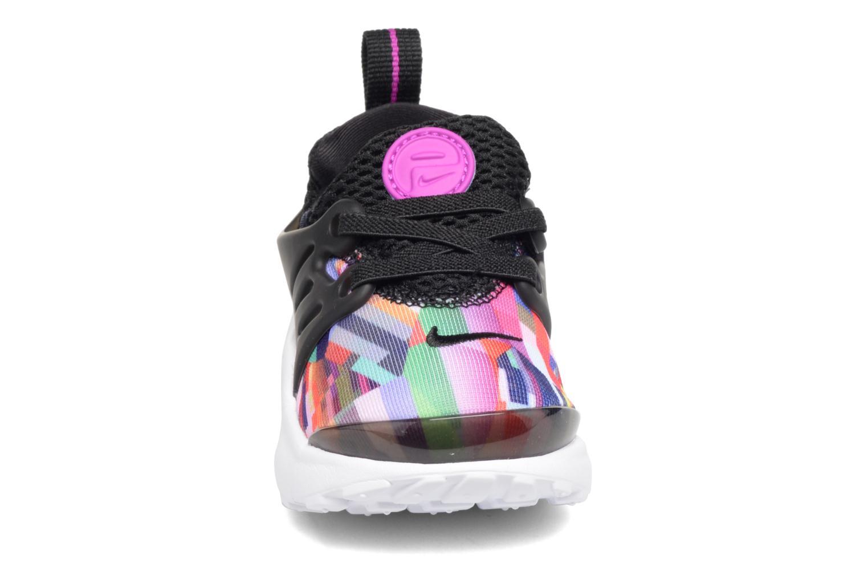 Sneaker Nike Nike Presto Print (Td) schwarz schuhe getragen