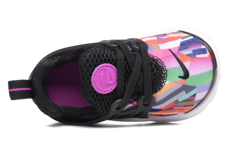 Sneaker Nike Nike Presto Print (Td) schwarz ansicht von links