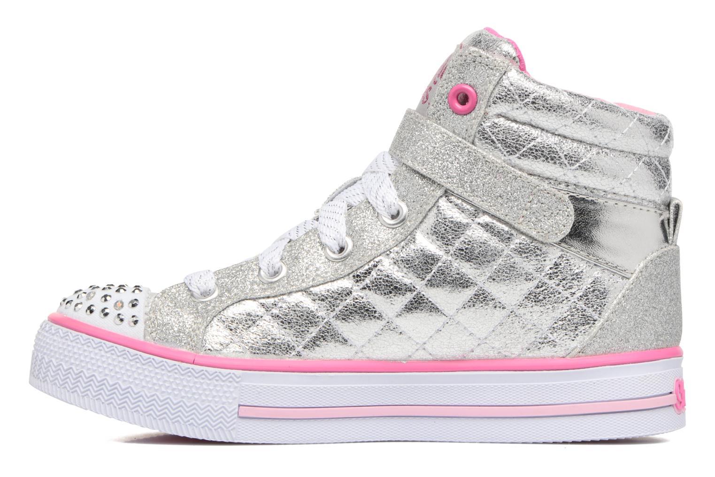 Sneakers Skechers Shuffles Sweetheart Sole Argento immagine frontale