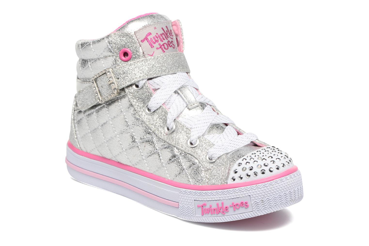 Shuffles Sweetheart Sole Silver/Hot Pink