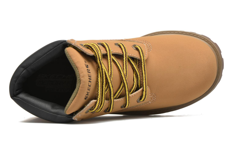 Bottines et boots Skechers Mecca Mitigate Beige vue gauche