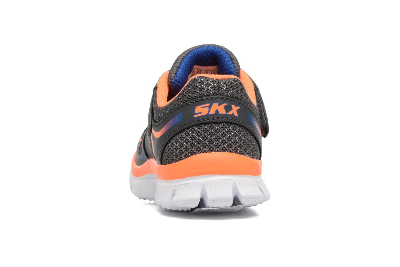 Sneaker Skechers Flex Advantage Mini Race grau ansicht von rechts