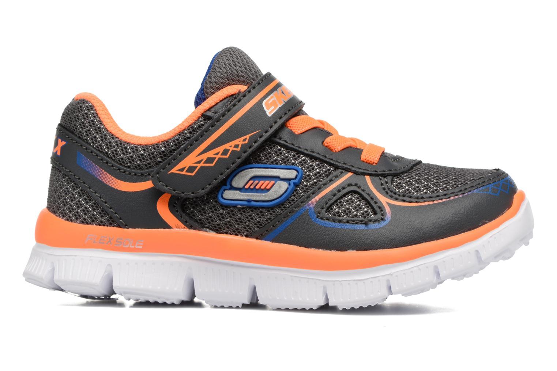 Sneaker Skechers Flex Advantage Mini Race grau ansicht von hinten
