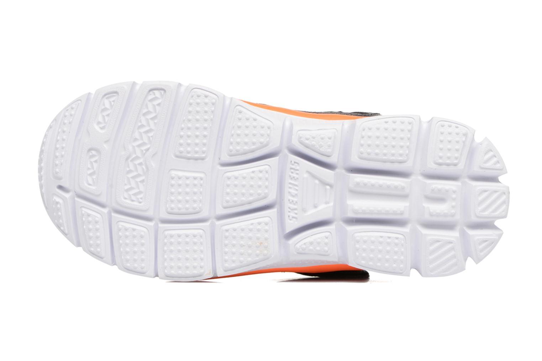 Sneaker Skechers Flex Advantage Mini Race grau ansicht von oben