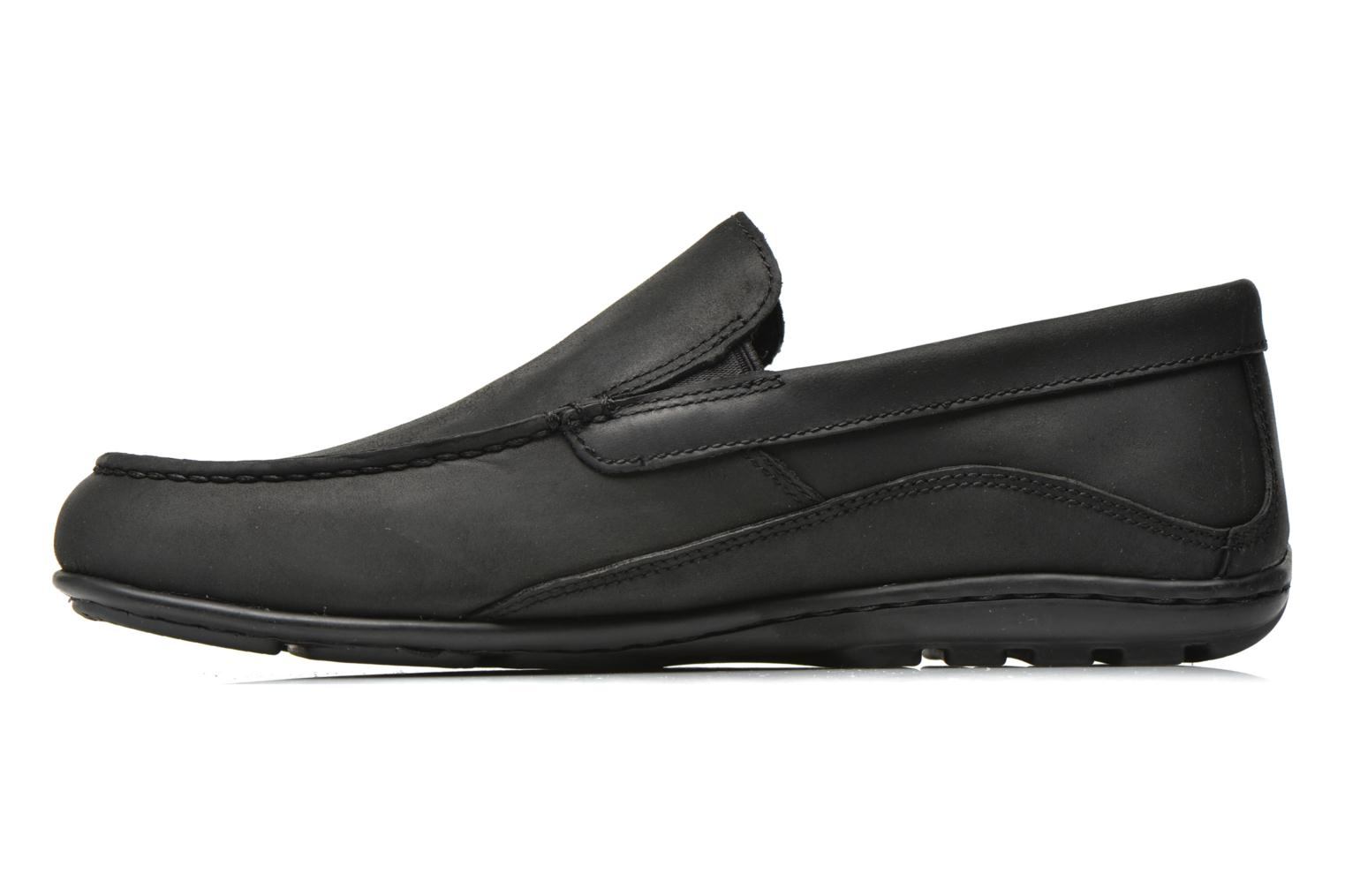 Mocassins Rockport Hit the Road Veneti Noir vue face
