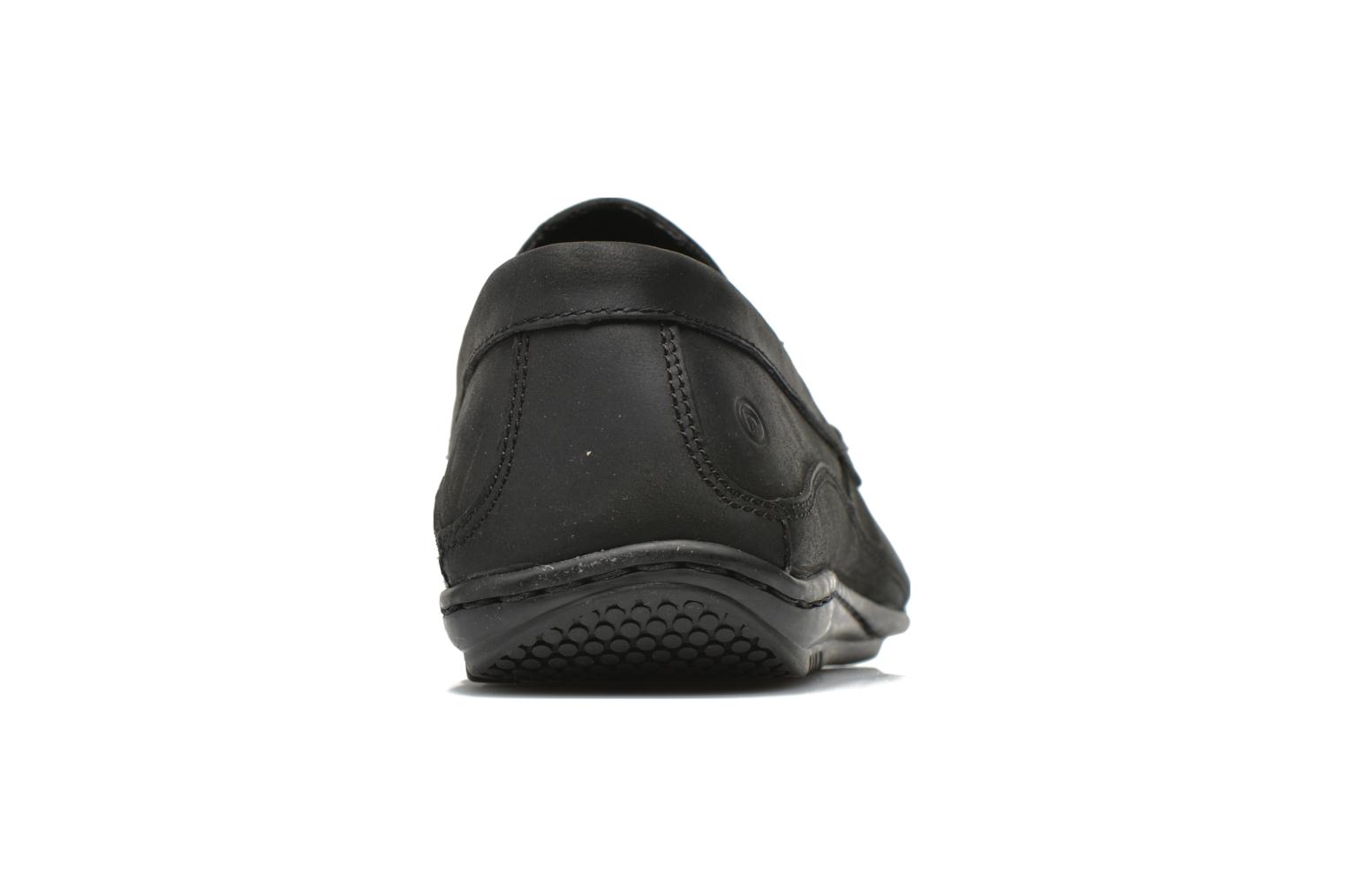 Mocassins Rockport Hit the Road Veneti Noir vue droite