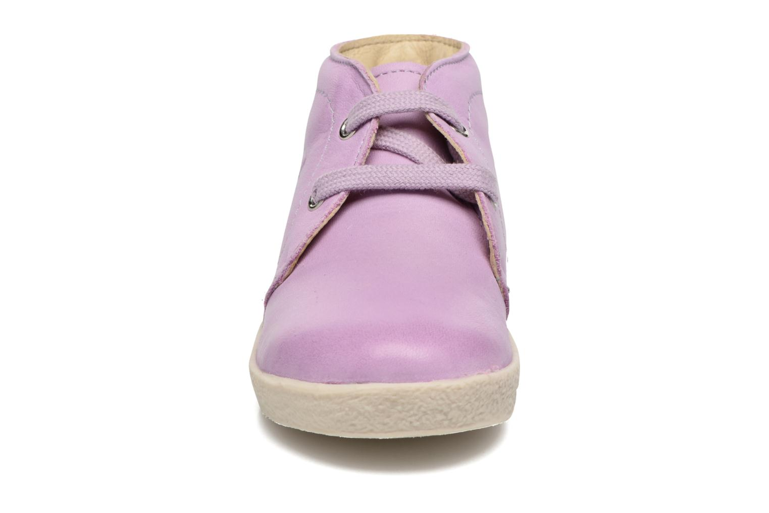 Lace-up shoes Naturino Falcotto 1195 Purple model view