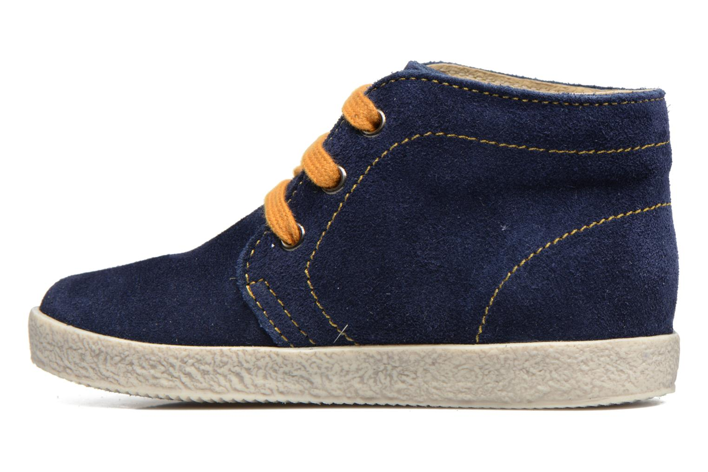 Chaussures à lacets Naturino Falcotto 1195 Bleu vue face