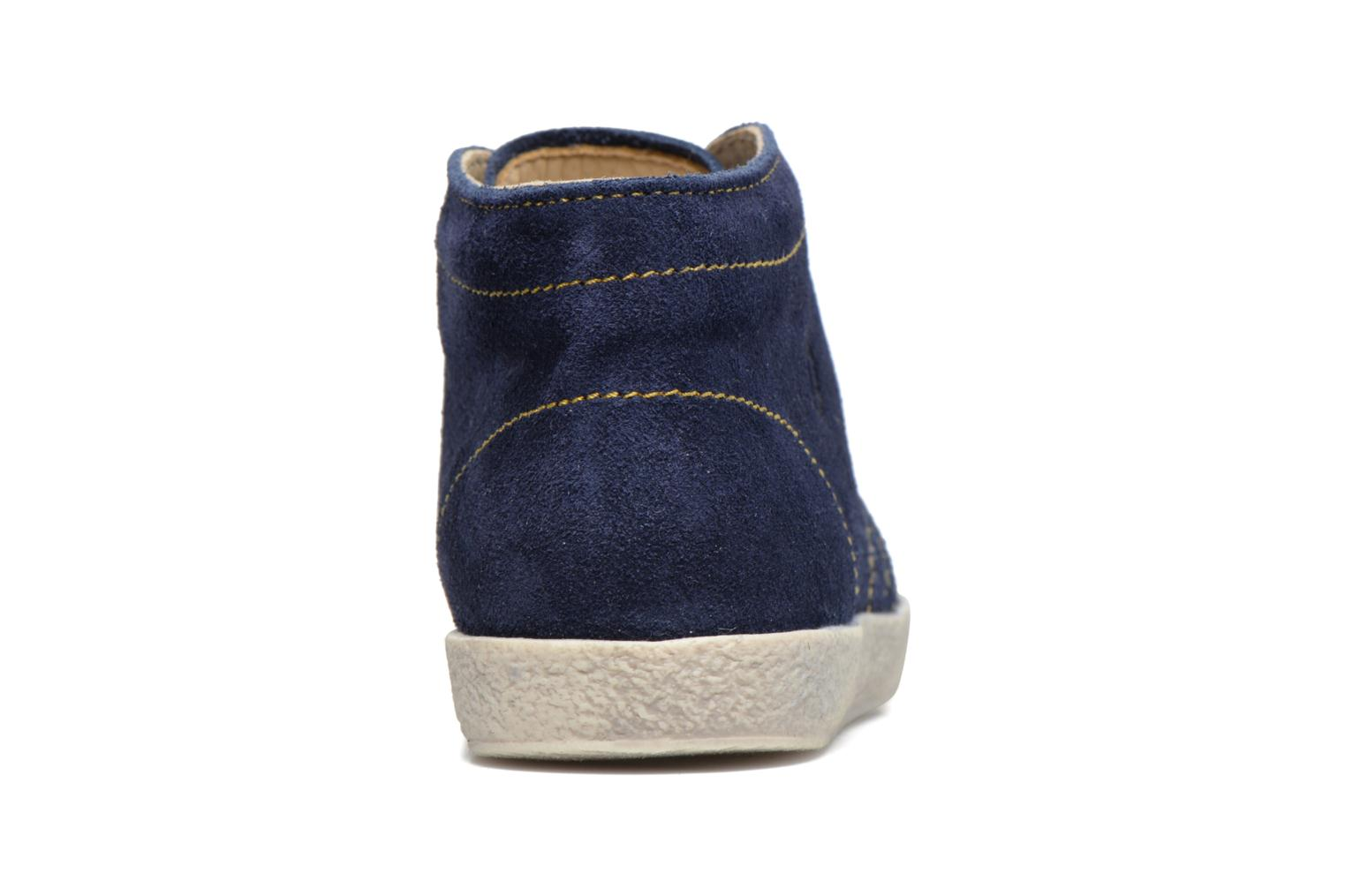 Lace-up shoes Naturino Falcotto 1195 Blue view from the right