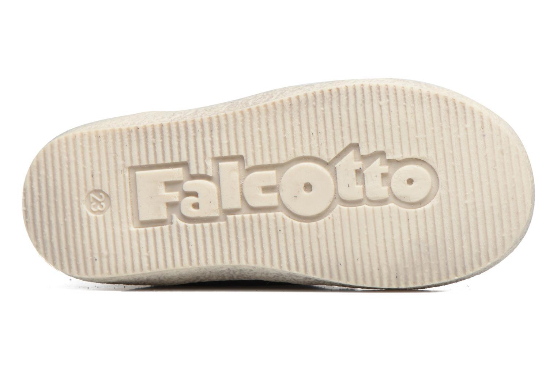 Chaussures à lacets Naturino Falcotto 1195 Bleu vue haut