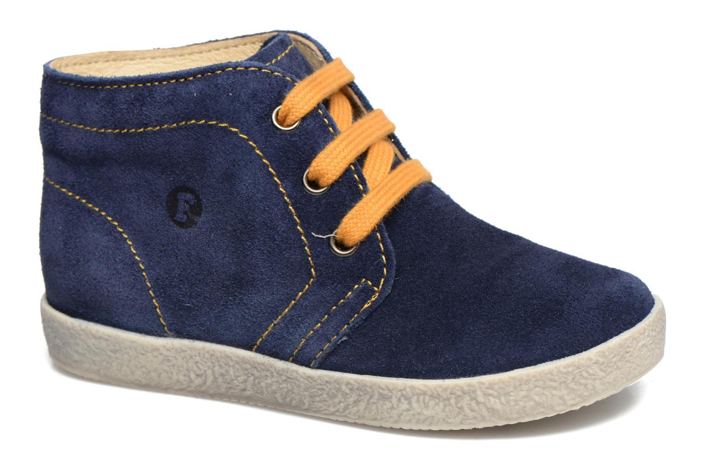 Chaussures à lacets Naturino Falcotto 1195 Bleu vue détail/paire