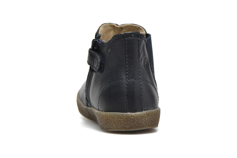 Bottines et boots Naturino Falcotto 4178 Bleu vue droite
