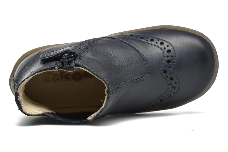 Bottines et boots Naturino Falcotto 4178 Bleu vue gauche